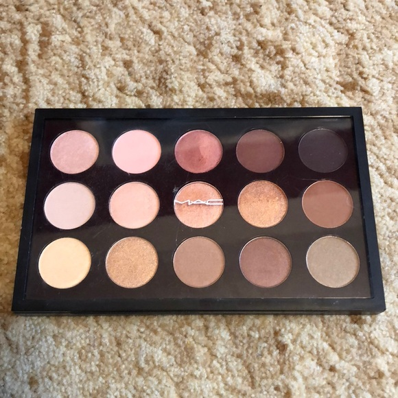 mac 15x warm eyeshadow palette